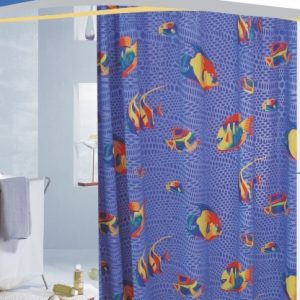 3D PVC SHOWER CURTAIN 1,80 X 1,80 No 1080