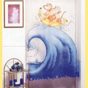 PEVA SHOWER CURTAIN 1,80 X 2,00 No 484