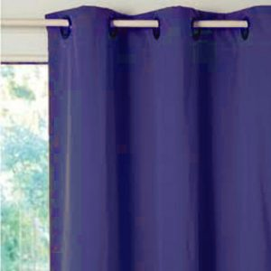 ATENAS SHOWER CURTAIN HOOKLES BLUE 180X196