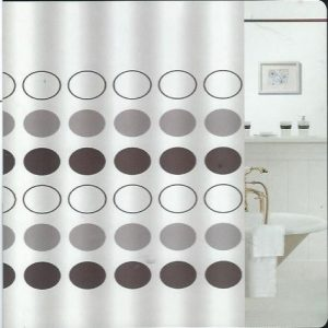 SHOWER CURTAIN  E-170  2,40X2,00