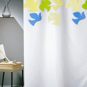 SHOWER CURTAIN Νο 1780 DOVE WHITE 2,40 Χ 1,80