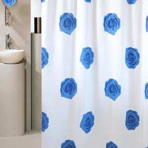 SHOWER CURTAIN No 1716 ROSE 1,80X2,00