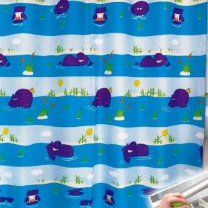 SHOWER CURTAIN  No 1023 HOOKLESS 1,80X1,80