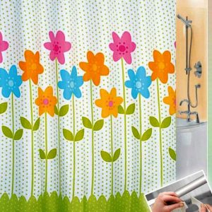 SHOWER CURTAIN  No 1028 HOOKLESS 1,80X1,80