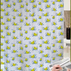 SHOWER CURTAIN  No 1042 HOOKLESS 1,80X1,80