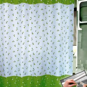 SHOWER CURTAIN  No 1044 HOOKLESS 1,80X1,80
