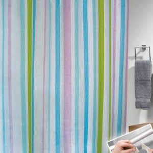 SHOWER CURTAIN  No 1049  HOOKLESS 1,80X1,80