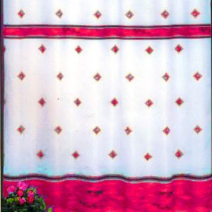 SHOWER CURTAIN No 109 PINK 240 200