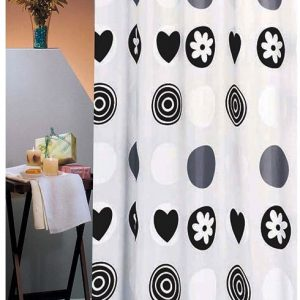 SHOWER CURTAIN No 1486 HEROSIMA 1,80X1,80