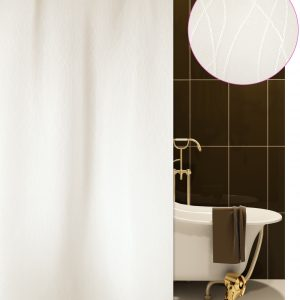 SHOWER CURTAIN No 1777 BERLIN ECRU 1,80X1,80