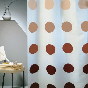 SHOWER CURTAIN  Νο 1894 COLOR MOON  HOOKLESS 2,40 X 1,80