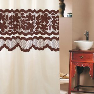 SHOWER CURTAIN No 1963 LACE 2,40 Χ 2,00