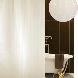 SHOWER CURTAIN Νο 1805 LUXOR ECRU 1,80X2,00
