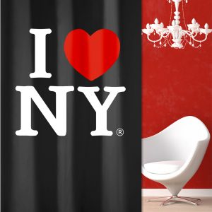 SHOWER CURTAIN Νο 3024 NEW YORK 1,80X2,00