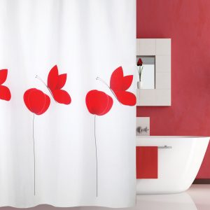 SHOWER CURTAIN No 1966 POPPY 2,40 Χ 2,00