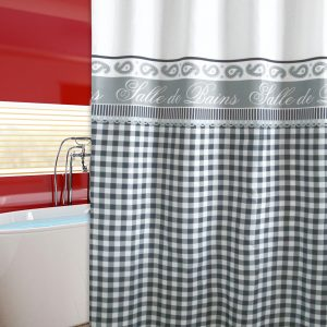 SHOWER CURTAIN  Νο 2045 SALLE DE BAIN 2,40 Χ 1,80