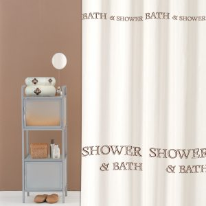 SHOWER CURTAIN Nr 2070 SHOWER & BATH 1,80X1,80