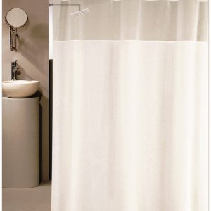 SHOWER CURTAIN No 1451 SNOW 1,80X1,80