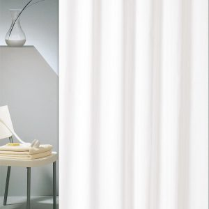 SHOWER CURTAIN HOTEL Νο 301 SOLID WHITE 2,40 Χ 1,80