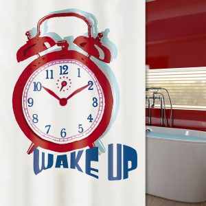 SHOWER CURTAIN No 1975 TIME 1,80X2,00