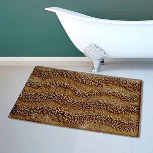 BATH-MAT BM-459 WAVES BEIGE 45Χ70