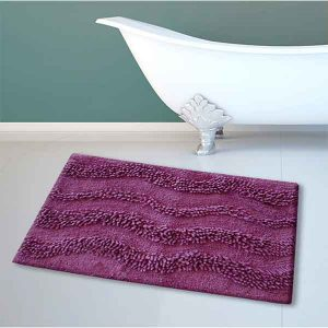 BATH-MAT BM-459 WAVES LILA 45Χ70