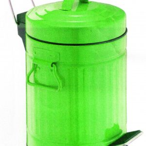 NO RUSTY STEP BIN 5 L GREEN