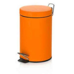 NO RUSTY STEP BIN 5 L ORANGE