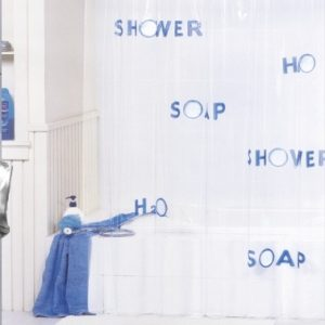 PVC SHOWER CURTAIN 1,80 X 1,80 No 359