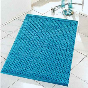 BATH-MAT ANIMAL 50X80 TURQUOISE