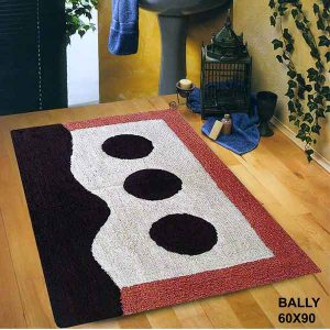 BATH-MAT BALLY BROWN 60X90