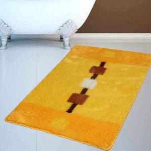 BATH-MAT BAROCCO YELLOW 60X100