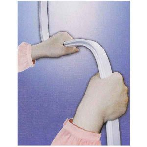 FLEXIBLE ALUMINUM RAIL 100X100 WHITE