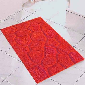 BATH-MAT DIB-666 RED 50X80