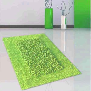 BATH-MAT COMBIE GREEN 45X70